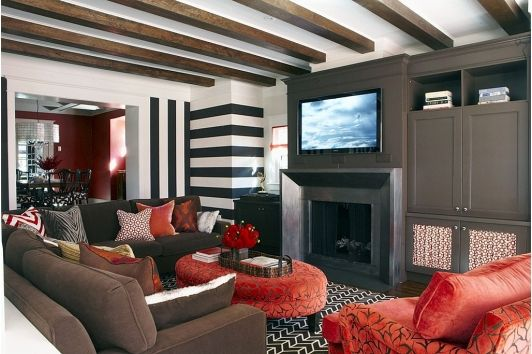 Family room design idea