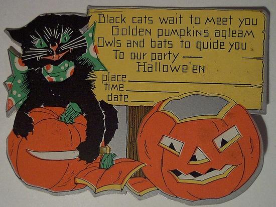 Vintage Halloween Invitation    flickr.com