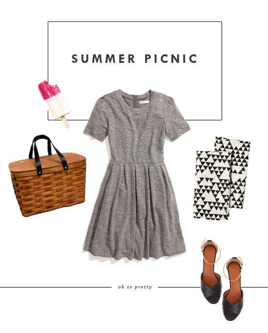 Oh So Pretty: Style // Summer Picnic