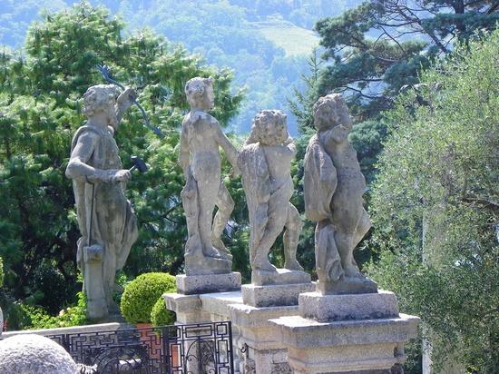 Isola Bella, Boromeo Palace, on Lake Maggiore, Italy