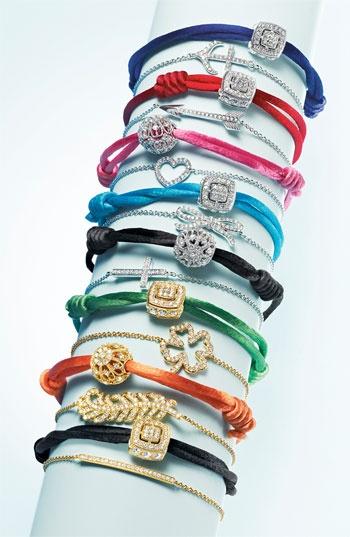 Nadri Cord Charm Bracelet