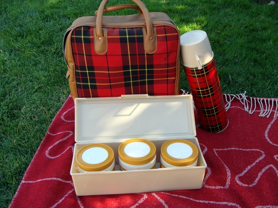 Plaid picnic.