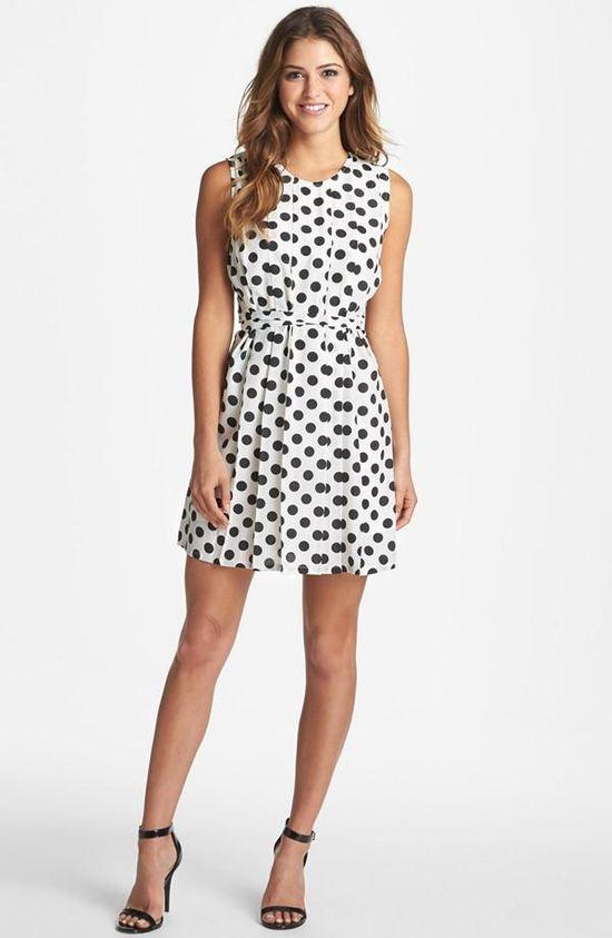 Every girl needs a classic polka dot dress.