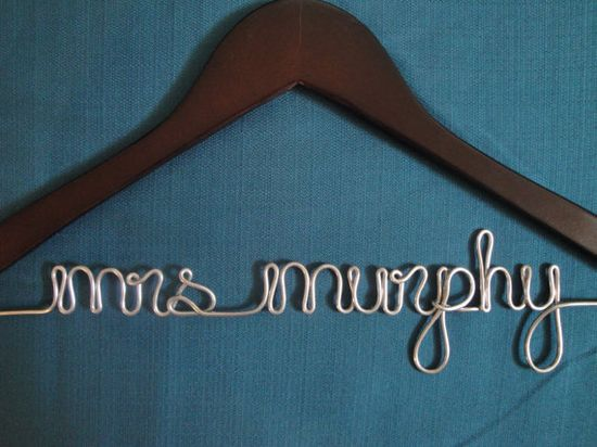wedding dress hanger- want this when i get married