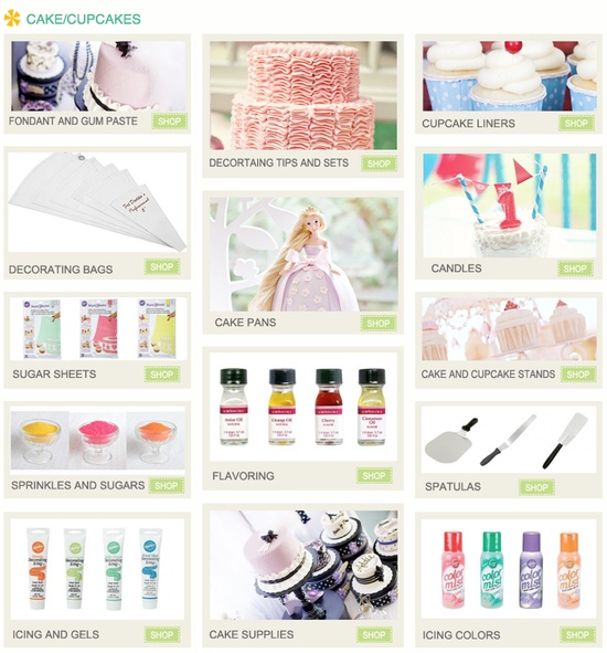 All the cupcake / cake supplies you could need...in one place! Kara's Party Ideas Shop - www.KarasPartyIde...