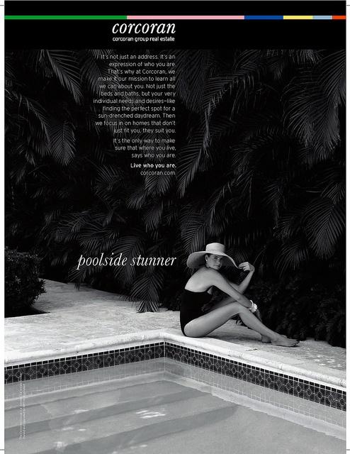 Corcoran Brand Advertising (Poolside Stunner)