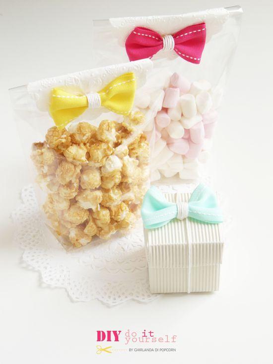 Ghirlanda di Popcorn: DIY: handmade bow