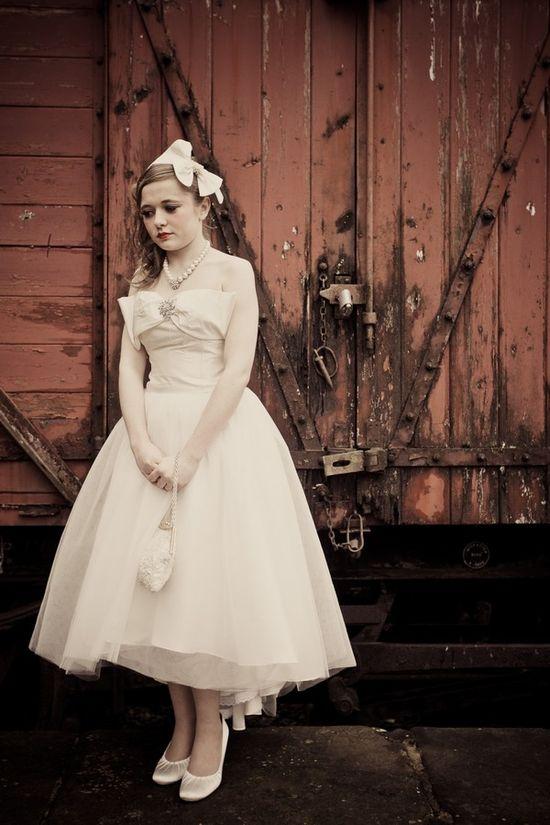 vintage #wedding dress