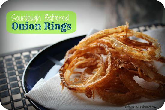 Sourdough Battered Onion Rings