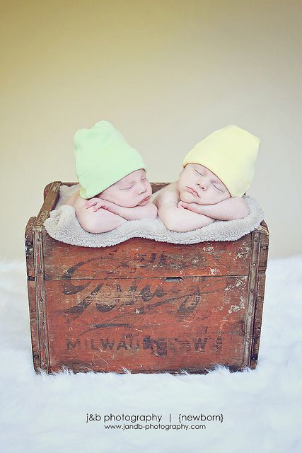 Twin Newborn Photo