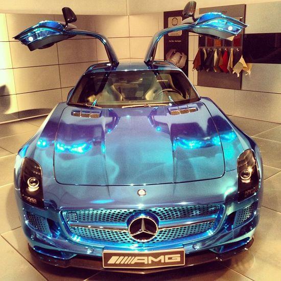 Mercedes SLS E-Drive