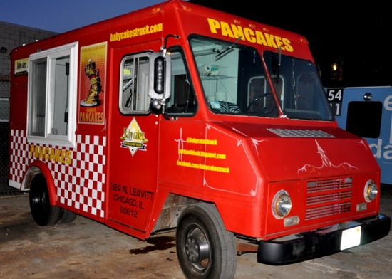 Babycakes food truck (pancakes) Food Truck Mobile Catering Chicago, IL #foodtruck #weddingcatering #weddingcaterer #mobilecatering #jevelweddingplanning