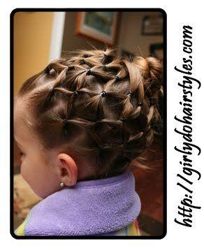 Cute hair-do's for girls