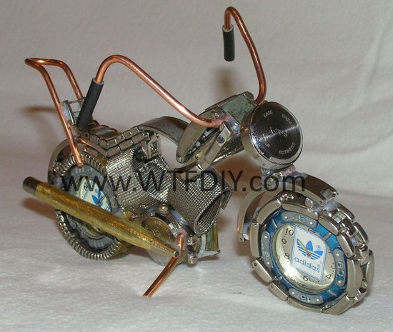 DIY Recycle Old Watches