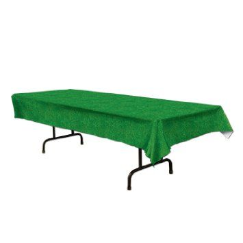 Amazon.com: Grass Tablecover Party Accessory (1 count) (1/Pkg): Kitchen & Dining