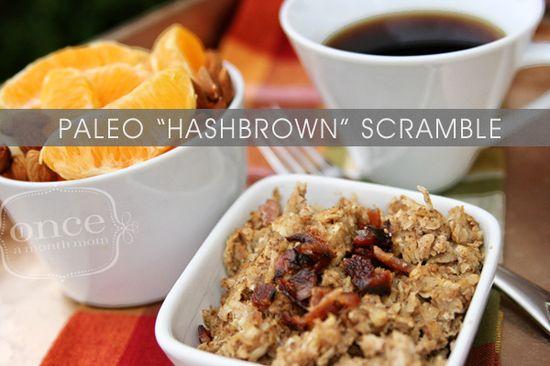 Paleo Hashbrown Scramble