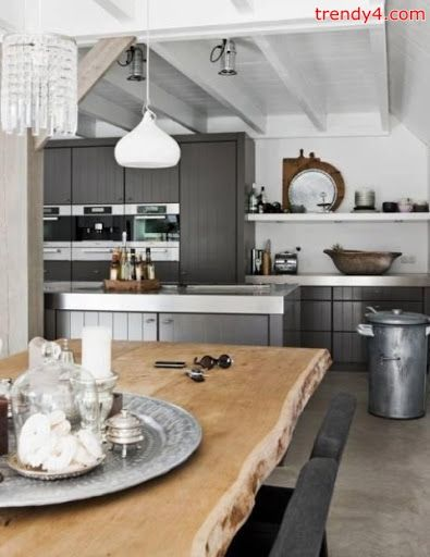 Classic Modest Red Kitchen Design Ideas 2013 2014