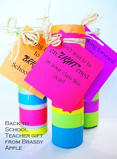 #BrassyApple: BRIGHT #backtoschool gift idea #teacher