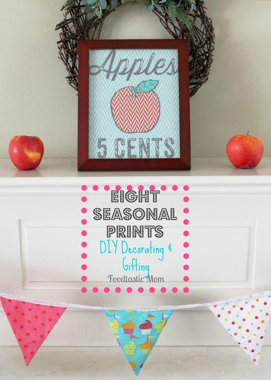 Simple Seasonal Printable Gift