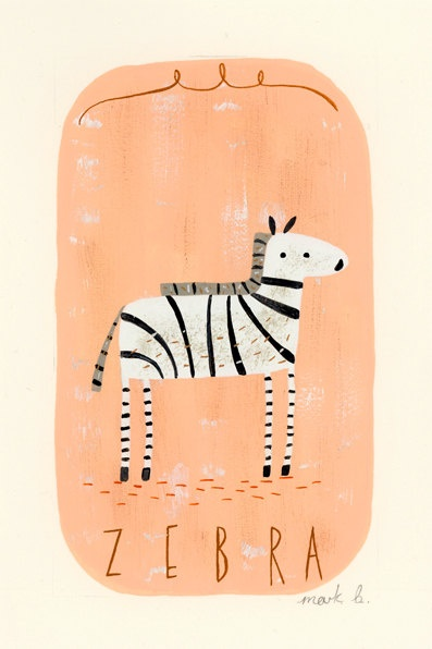 love #zebra #illustration