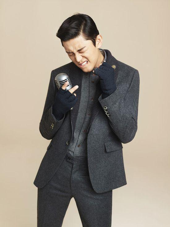 Yoo Ah In // The Class' Winter 2013 ? Korean Portraiture