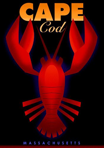 - Cape Cod Travel Poster