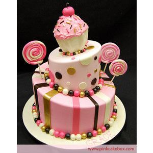 fabulous!! candy party cake