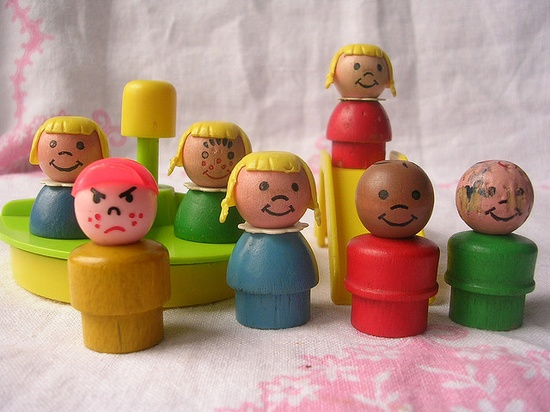 #fisher_price #vintage #little_people