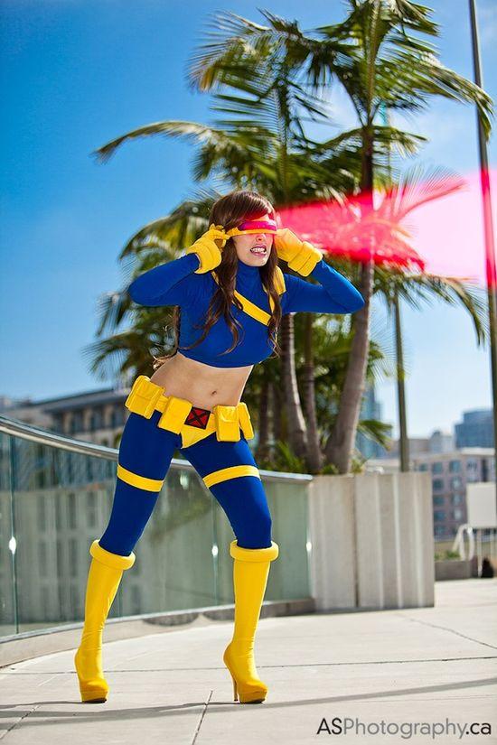 Female Cyclops by Nadya Sonika at San Diego Comic-Con 2012