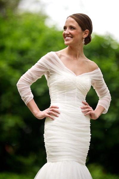 love this monique lhuillier gown