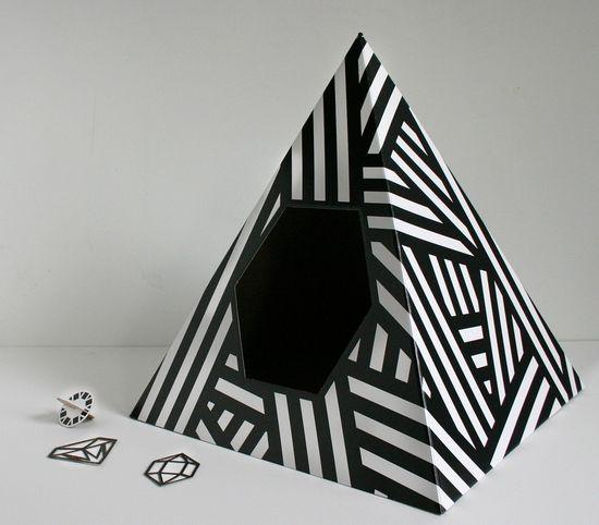 Energy Pyramid Cat House