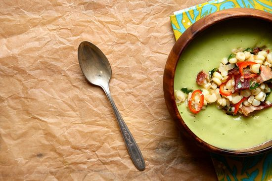 #Soup Creamy Avocado Soup