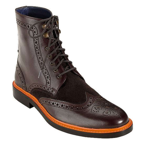 My new boots: Air Harrison Laced Boot - Men's Shoes: Colehaan.com $338