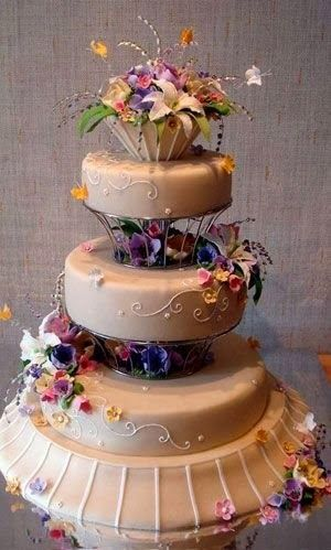 Romantic Wedding Cake Designs 2014