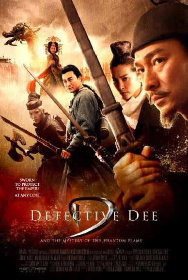 Detective Dee was a film adaptation of an actual ancient chinese magistrate and stars one of my favorite actors Andy Lau.