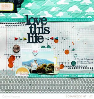 LOVE THIS LIFE *Main kit ONLY* by celine navarro at Studio Calico