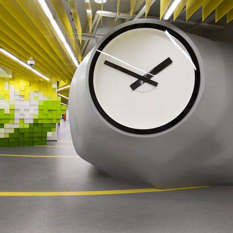 Yandex Office Design
