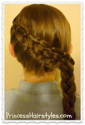 cinch #knot feather #braid hair tutorial
