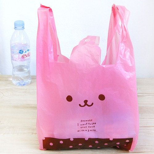 50 pcs Cute Rabbit Gift Bags by cinderella201021 on Etsy, $9.99