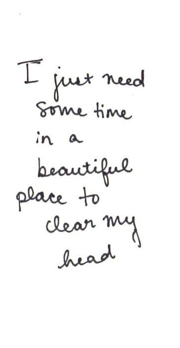 I need to travel!
