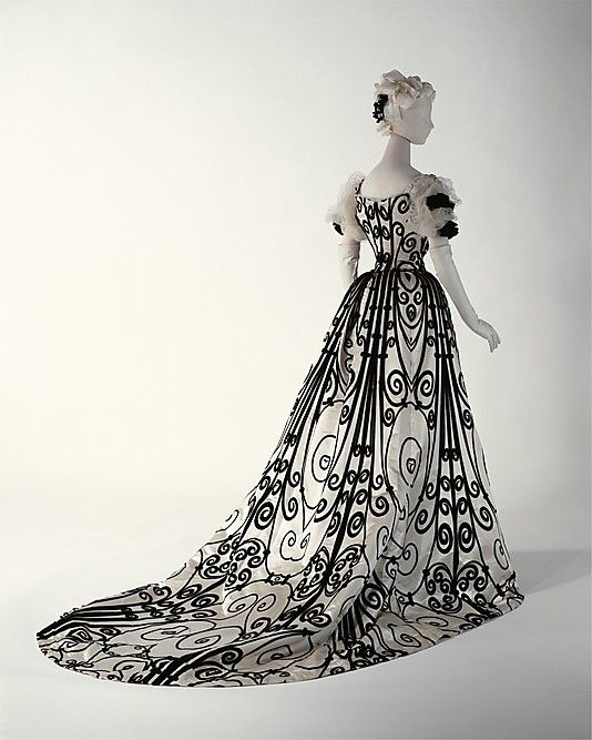 Evening dress House of Worth (French, 1858–1956) 1898–1900, my favourite gown