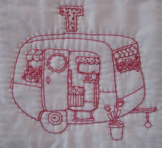 trailer embroidery