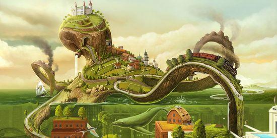 Landscapes Castles