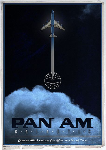 Pan Am Galactic Poster***Research for possible future project.