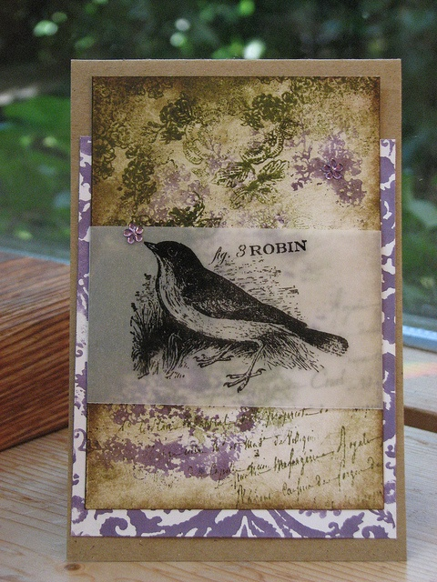 Lovely bird card