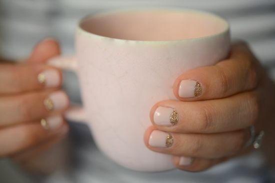 nails + cup