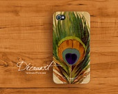 Peacock iphone 4s case