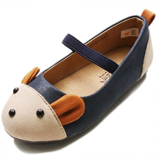 Adorable Mouse Shoes - Navy