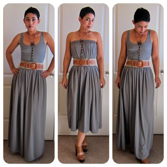 Simple maxi skirt/dress