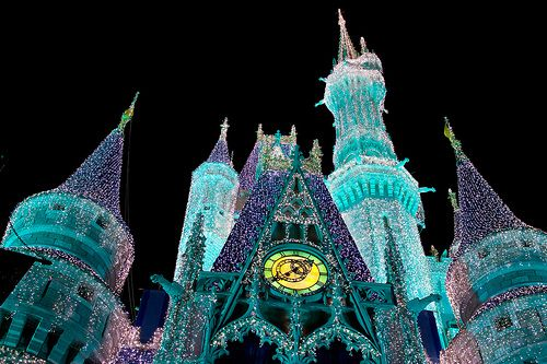 WDW Dec 2008 - Cinderella Castle by PeterPanFan, via Flickr